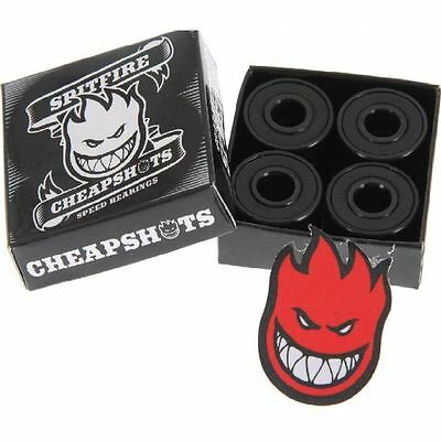 Spitfire Cheapshot Skateboard/Skate/Roller Bearings NEW Cheapshots FAST SHIPPING
