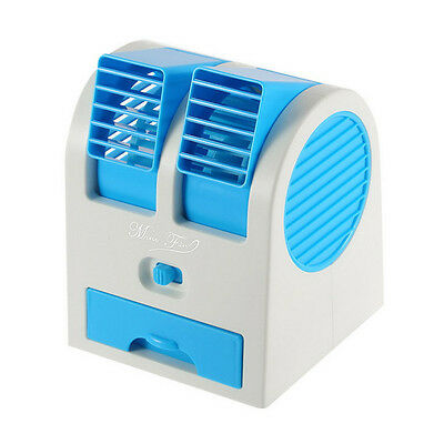 "HB-168 2.5W  Desktop 6"" Small Mini Air Fan Air Conditioning Cooler & Humidifier"