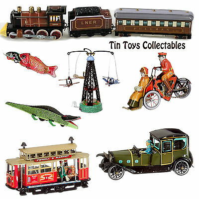 Tin Toys Wind-up Vintage Collectible Handmade European Retro Gift Adult