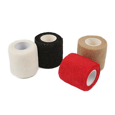 Sports Muscle Tape Roll Therapeutic Care Elastic Injury Bandage 5cmx4.5m