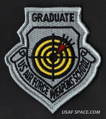 Authentic Us Air Force Weapons School Graduate Usaf Patch - Mint!