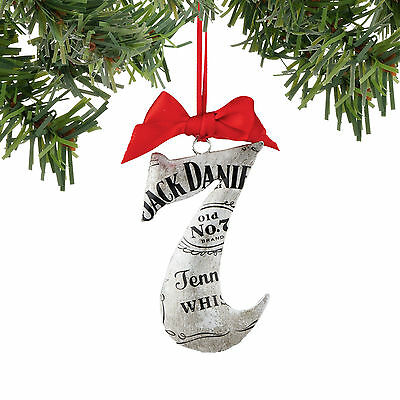 4052188 Jack Daniels Raw Tin No 7 Christmas Dept 56 Holiday Ornament