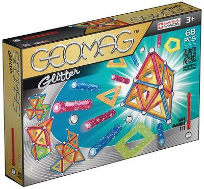 GEOMAG Geomag panels glitter 68 pz. - Toys