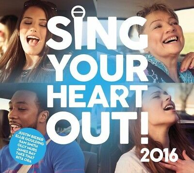 SING YOUR HEART OUT! - Various Artists 2CD *NEW* 2016