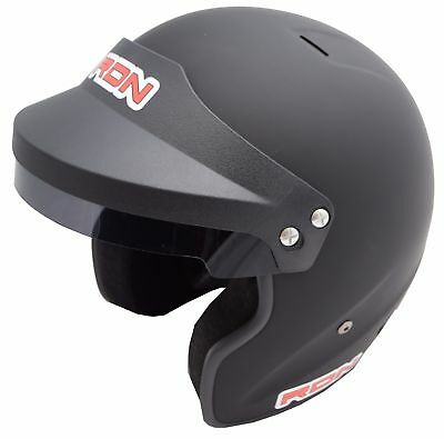 Racerdirect.net Pyrotect Open Face Helmet Matte Black Sa 2010 Dot Xl Imsa Scca