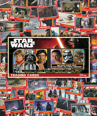 Topps Journey to Star Wars: The Force Awakens Trading Cards. Reg Base No.60-119