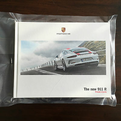 Porsche 911R Sales Brochure - English - Hardback A4 - 66 glossy pages - 03/16