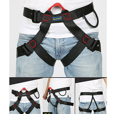 Rappelling Rock Climbing Harness Seat Safety Belt Rescue Downhill Equipment new