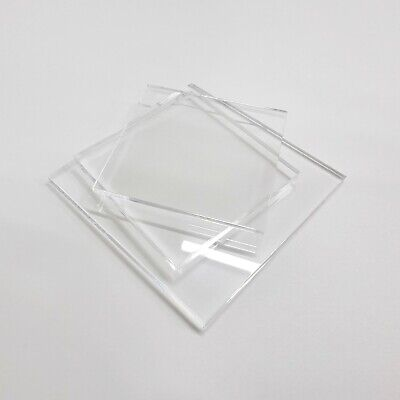 Clear Acrylic Sheet With Polished Edges / Custom Cut To Size Panels / Laser Cut