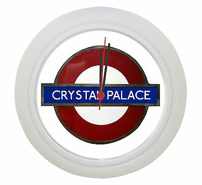 Crystal Palace Underground Tube Wall Clock ! Great Gift !