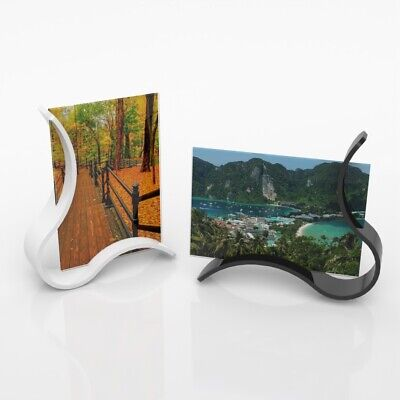 Acrylic Freestanding Photo Block Frame Clear Acrylic Picture Photo Frame
