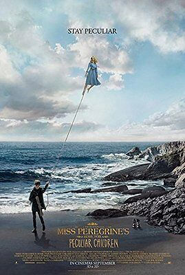 New original Miss Peregrine's Double Sided DS Movie Poster 27x40