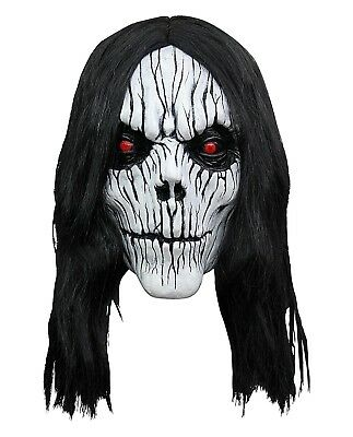 Possession Overhead Latex Mask Halloween Party Costume Scary Horror Ghost Demon