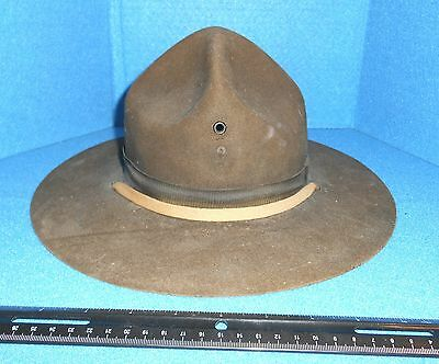 Military Hat, WWII, US Drill Instructor's Felt Hat