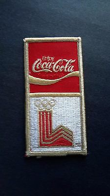 Vintage Coca-Cola Olympics embroidered patch