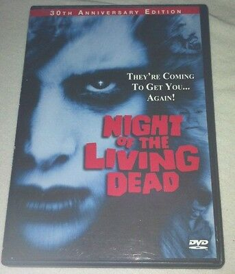 Night Of The Living Dead R1 DVD OOP George A. Romero Anchor Bay 30th Anniversary
