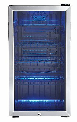 Beverage Center Cooler Refrigerator Machine Shelve Stainless Steel Bar Catering