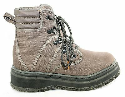 Lady Hodgman Wader Fishing Felt Sole Lace Up Brown Boots