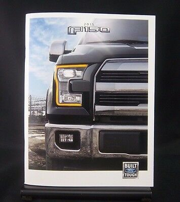 FORD Original/Official/NOS-2015 F-150 Sales Catalog-Brochure-Literature-60 Pages