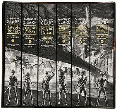 The Mortal Instruments the Complete Collection: City of Bones; City of Ashes;...