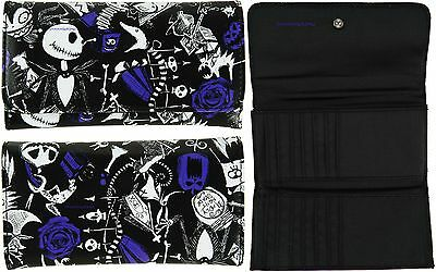 The Nightmare Before Christmas Snap Closure Tri-Fold Wallet ~Disney~ Free Ship