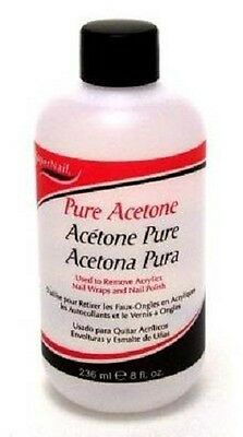 Pure Acetone Remove PVC Glue & Other Petroleum based residue Coin Clean 8 ounce