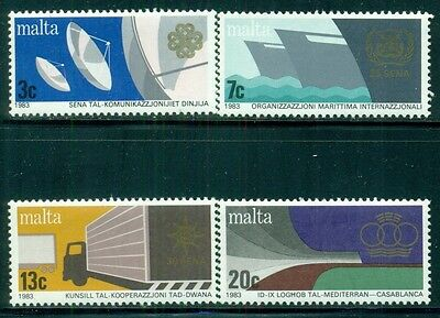 MALTA Sc629-32 SG714-17 MNH 1983 Anniversaries set of 4 SCV$4