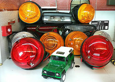Land Rover Series 3 Defender OEM Wipac Complete Lights Set Inc Fog & Reverse