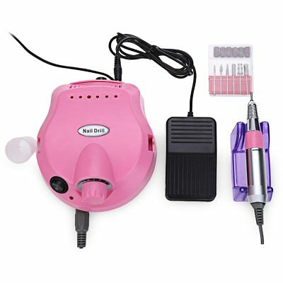 Professional Electric Nail Polisher File Drill Manicure Pedicure Machine
