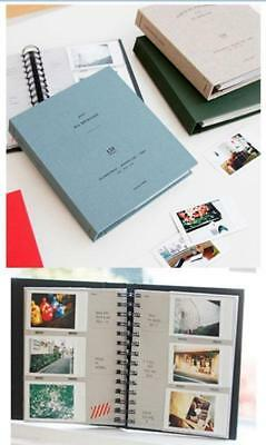 Book Photo Album For Fujifilm Polaroid Instax Mini8 90 50 7 25s MP300 Film (120)