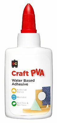 EC craft PVA Glue 50mL Washable Adhesive Non-Toxic MADE IN AUSTRALIA