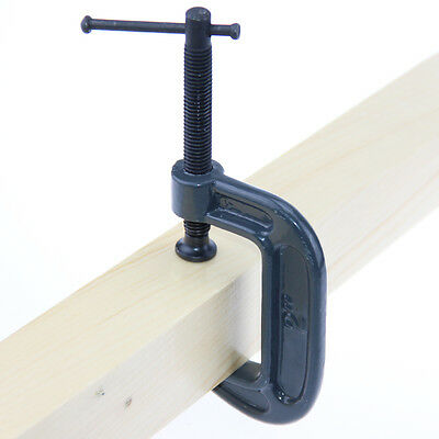"""2"""" Quick-Grip C-Clamp G Clamp Set fr Carpenters / Woodworker / Engineers"""