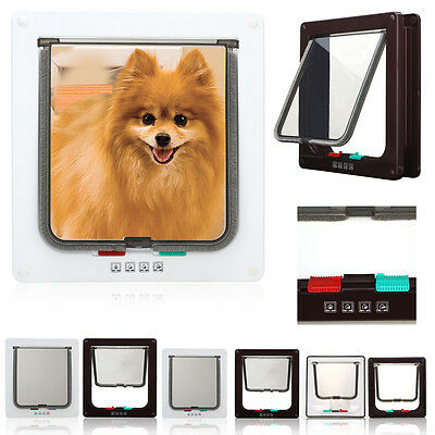 Stay well Pet safe Dog Door Cat Flap 4Way Locking Small 715 Medium 740 Large 760