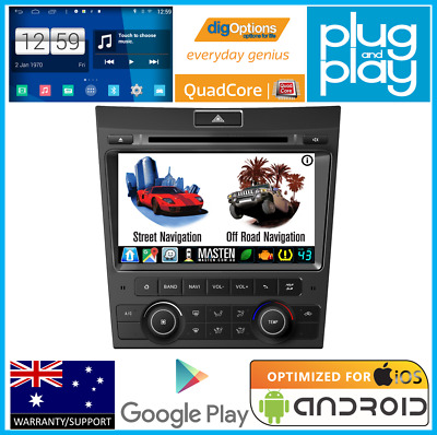 *For Holden Commodore VE & For Pontiac G8 Bluetooth Car Player Android Radio Nav