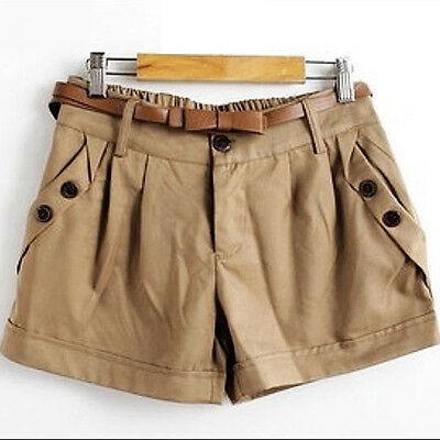 Women's Summer Korean Style Short Pants Casual Loose Beach Shorts Delightful
