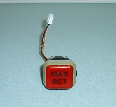"Slot Machine Lighted Max Bet Button For Japanese ""aruze"" Token Slot Machine"