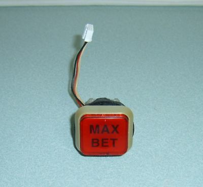 Slot Machine Max Bet Button For Japanese Token Skill Stop Slot Machine - Lighted