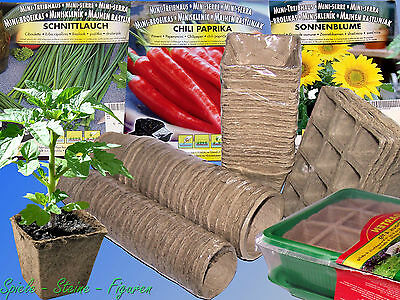 Propagation pots, bio-degradable, Seed tray, Plant pots Room Greenhouse