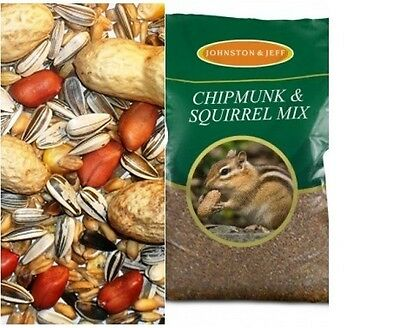 Johnston And Jeff Squirrel And Chipmunk Food-Feed 12.5Kg Or 25Kg
