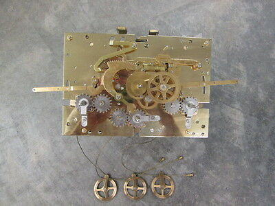 Hermle Triple Chime Grandfather Clock Movement 1171-850 94cm with night shut off
