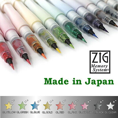 Zig Wink of Stella Brush (Kuretake) 9 colours available