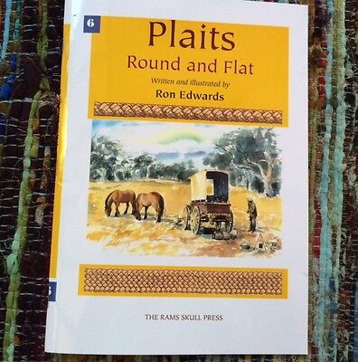 Kangaroo PLAITS Round & Flat Book by Ron Edwards instructional manual THE BEST