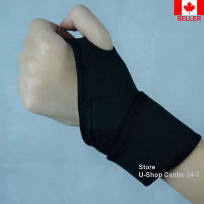 Wrist Guard Band Brace Support Adjustable Carpal Tunnel Sports Daily Bandage