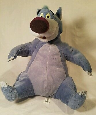 "Disney Hasbro Be Boppin BALOO Bear Talking Singing Jungle Book Disney 12"" Plush"