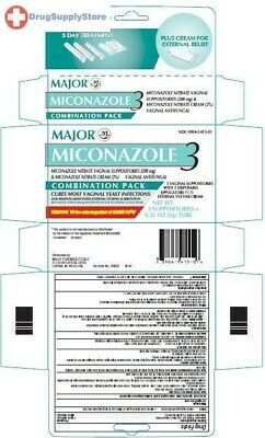 Miconazole 3 Day Cream W/applicator