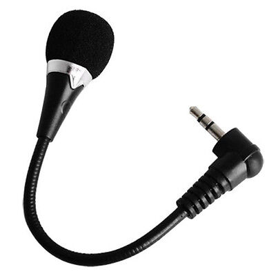 New Mini Flexible Microphone Mic 3.5mm Plug for PC Laptop Notebook Accessories