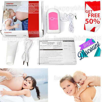 Fetal Doppler BABY Sound Heart Monitor Portable ultrasound,Maternal monitoring