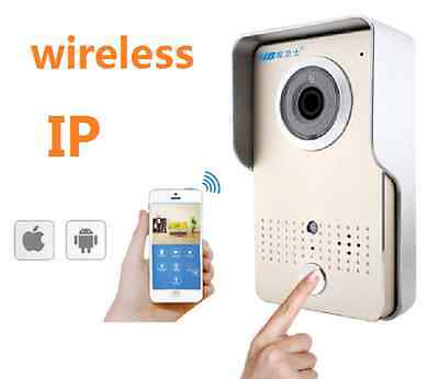 Citofono Campanello Wireless Wifi Ip Video Remote Control Da Smartphone *a*