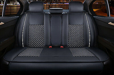 Universal Car seat Covers Rear Cushion Set PU Leather Four Seasons for ALL CAR
