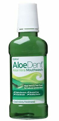 Aloe Vera & Tea Tree Mouthwash 250ml - Aloe Dent